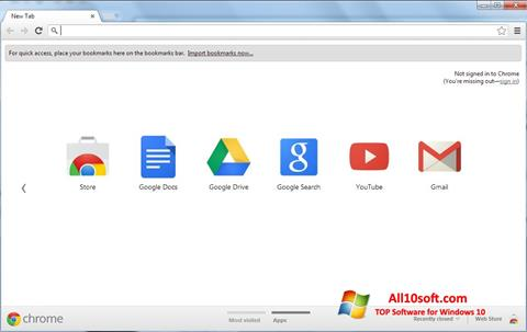 Ekran görüntüsü Google Chrome Windows 10