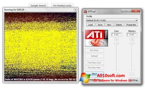Ekran görüntüsü ATITool Windows 10