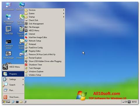 Ekran görüntüsü Hirens Boot CD Windows 10
