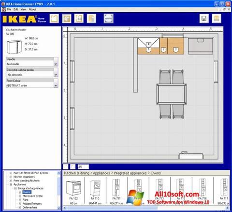 Ekran görüntüsü IKEA Home Planner Windows 10