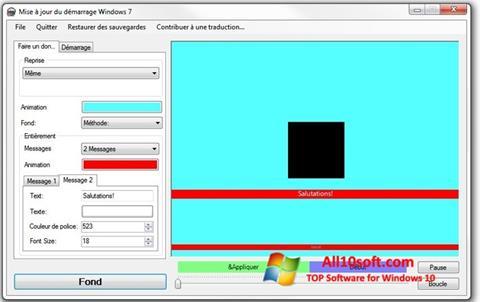Ekran görüntüsü Boot Updater Windows 10