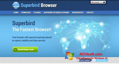Ekran görüntüsü Superbird Windows 10
