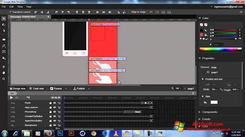 Ekran görüntüsü Google Web Designer Windows 10