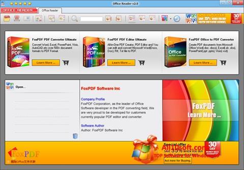 Ekran görüntüsü Doc Reader Windows 10