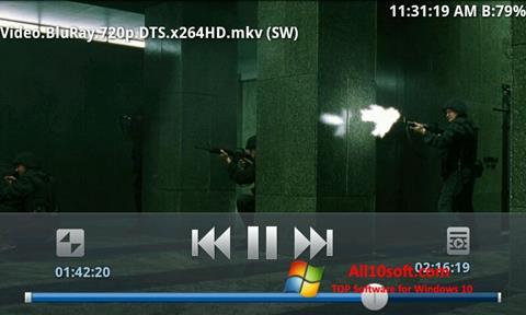 Ekran görüntüsü BSPlayer Windows 10