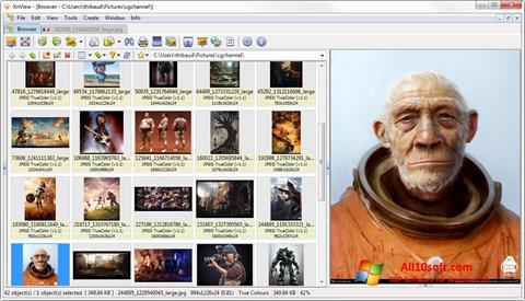 Ekran görüntüsü XnView Windows 10