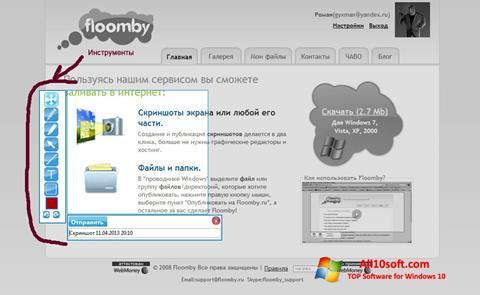 Ekran görüntüsü Floomby Windows 10