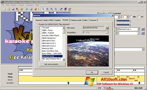 Ekran görüntüsü KaraFun Windows 10