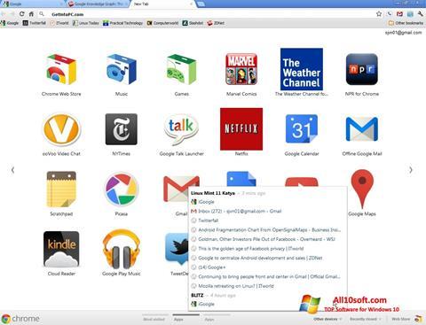 Ekran görüntüsü Google Chrome Offline Installer Windows 10