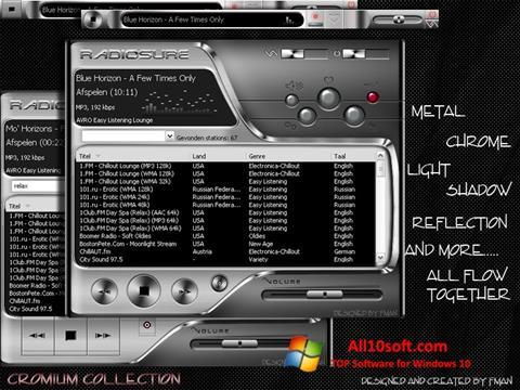 Ekran görüntüsü RadioSure Windows 10