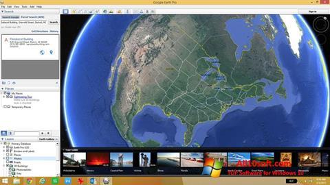Ekran görüntüsü Google Earth Pro Windows 10