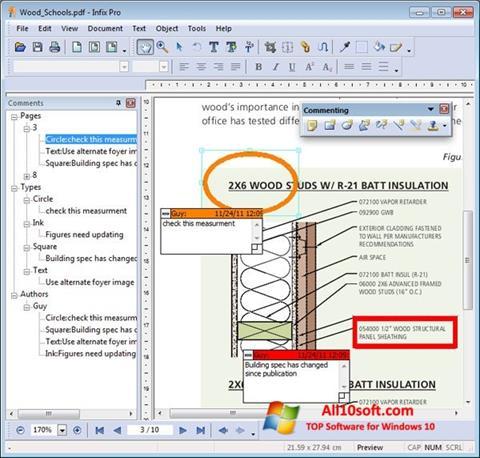 Ekran görüntüsü Infix PDF Editor Windows 10