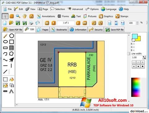 Ekran görüntüsü PDF Reader Windows 10