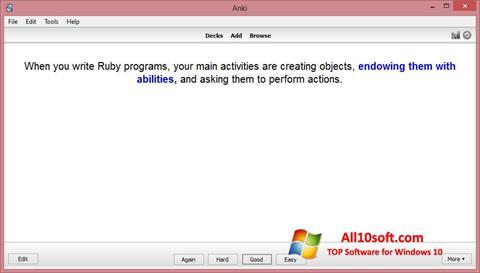 Ekran görüntüsü Anki Windows 10