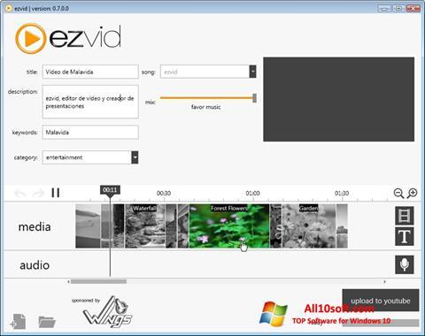 Ekran görüntüsü Ezvid Windows 10