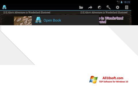 Ekran görüntüsü AlReader Windows 10