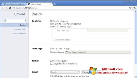 Ekran görüntüsü Google Chrome Canary Windows 10