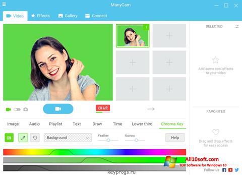 Ekran görüntüsü ManyCam Windows 10