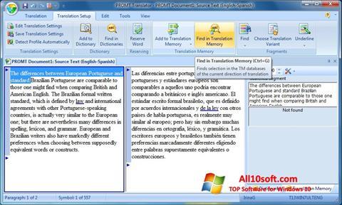 Ekran görüntüsü PROMT Windows 10