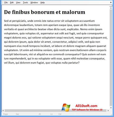 Ekran görüntüsü Doc Viewer Windows 10
