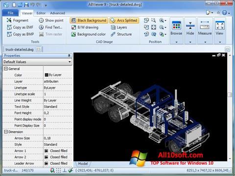 Ekran görüntüsü ABViewer Windows 10