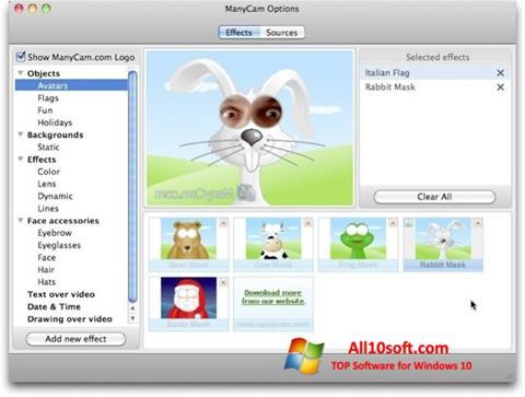 Ekran görüntüsü ManyCam Pro Windows 10