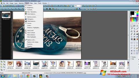 Ekran görüntüsü PhotoFiltre Studio X Windows 10