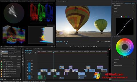 Ekran görüntüsü Adobe Premiere Pro CC Windows 10