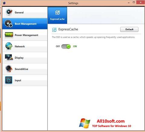 Ekran görüntüsü Easy Settings Windows 10