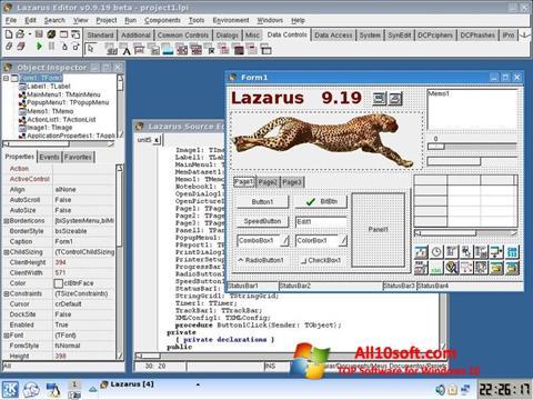 Ekran görüntüsü Lazarus Windows 10