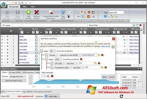Ekran görüntüsü Key Collector Windows 10