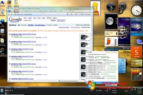Ekran görüntüsü Google Desktop Windows 10
