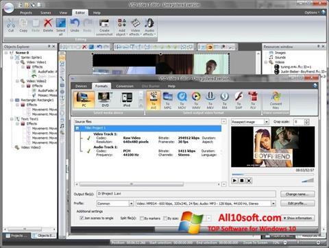 Ekran görüntüsü Free Video Editor Windows 10