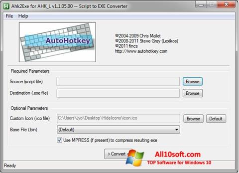 Ekran görüntüsü AutoHotkey Windows 10