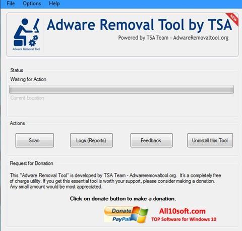 Ekran görüntüsü Adware Removal Tool Windows 10