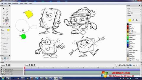 Ekran görüntüsü Pencil Windows 10