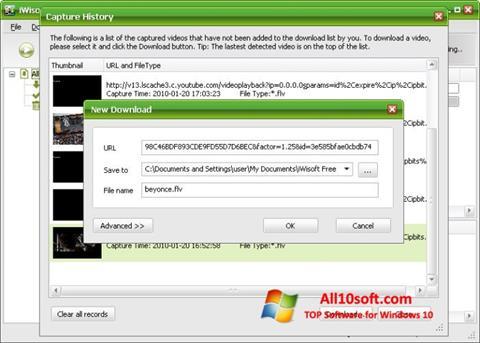 Ekran görüntüsü Free Video Catcher Windows 10