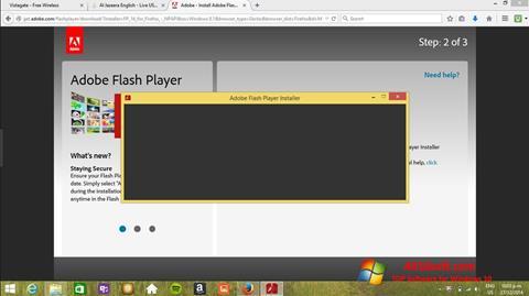 Ekran görüntüsü Adobe Flash Player Windows 10