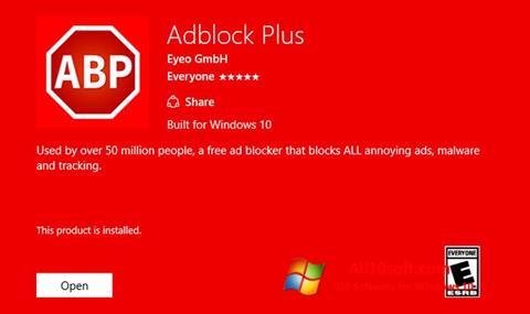 Ekran görüntüsü Adblock Plus Windows 10
