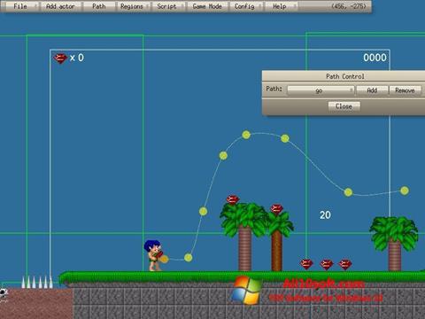 Ekran görüntüsü Game Editor Windows 10