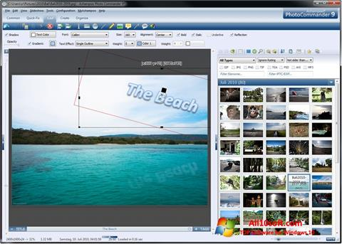 Ekran görüntüsü Ashampoo Photo Commander Windows 10