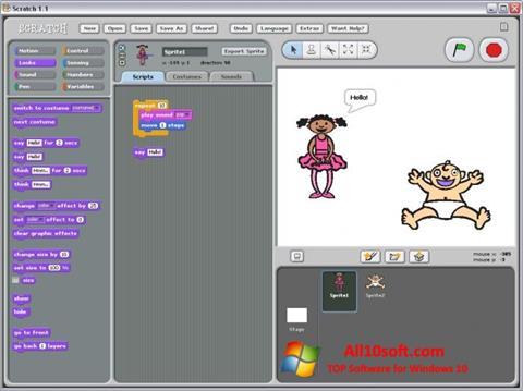 Ekran görüntüsü Scratch Windows 10