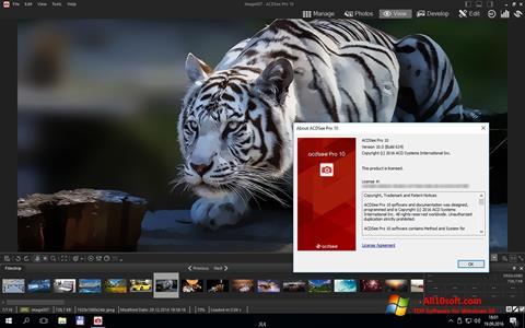 Ekran görüntüsü ACDSee Pro Windows 10