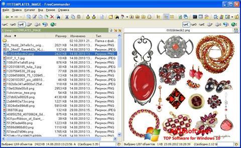 Ekran görüntüsü FreeCommander Windows 10