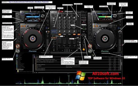 Ekran görüntüsü Virtual DJ Windows 10